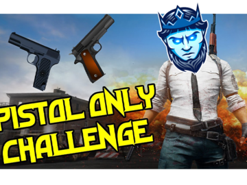 One-Time: Pistol only challenge