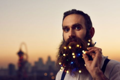 One-Time: Lights in Beard