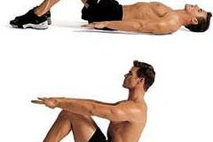One-Time: 10 sit ups